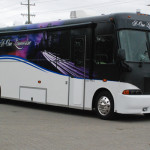 Giant Party Charter Bus